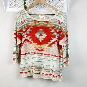 Ralph Lauren Denim & Supply 3/4 Sleeve Sweater Lg